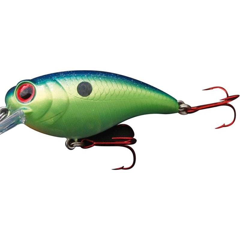 Lures Biwaa Fishing Performance YAKUZA MR1 5.5CM BLUE BACK CHART - BLUE BACK CHARTREUSE