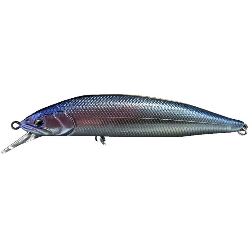 Lures Babyface M100R SP 10CM BLUE BACK SILVER