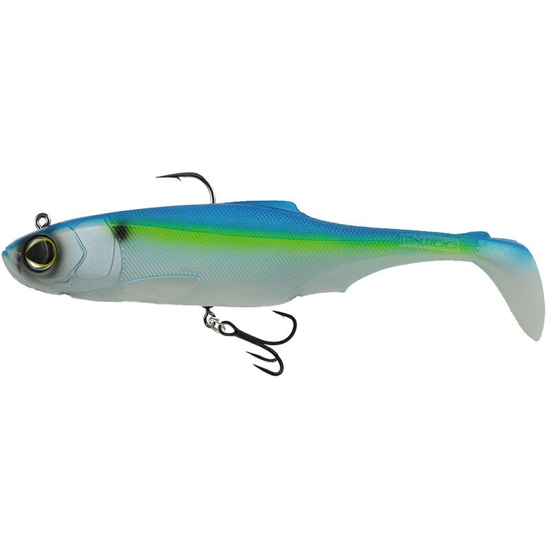 "Lures Biwaa Fishing Performance SUBMISSION 8"" TOP HOOK 360 SUBMISSION 8 TOP HOOK 360 20CM BLUE CHROME"