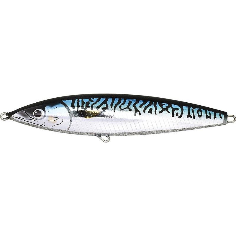 Leurres Fish Tornado REAL MACKEREL FLOATING 24CM BLUE MACKEREL