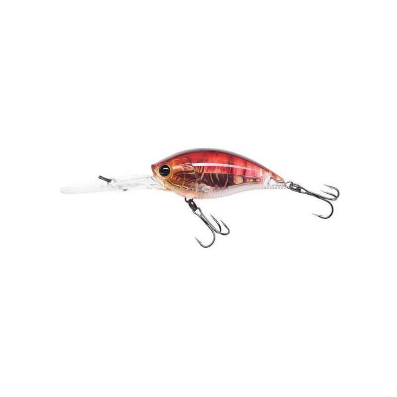 LEURRE FLOTTANT YO-ZURI 3DR DEEP CRANK - 7CM - Brown Crawfish