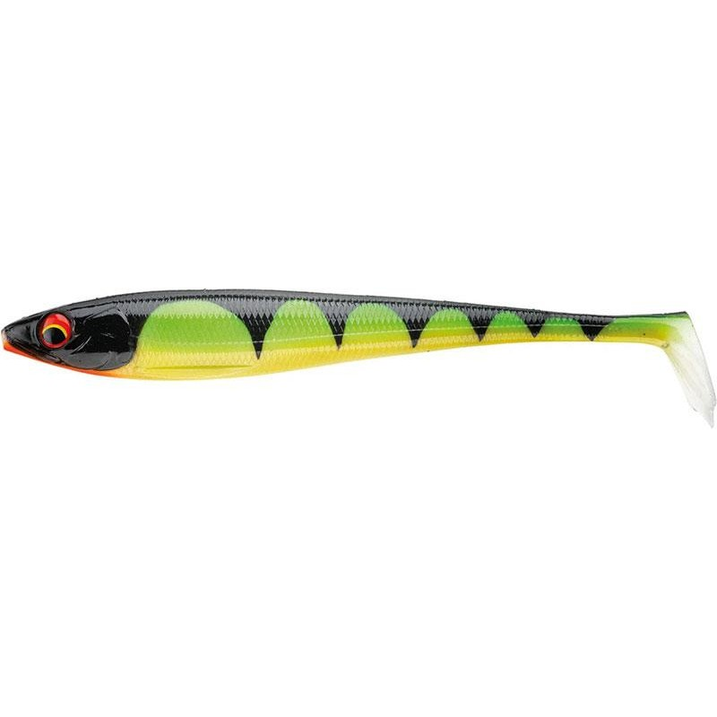 Lures Daiwa DUCKFIN SHAD XL 25CM BURNING PERCH