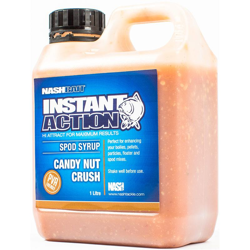 INSTANT ACTION SPOD SYRUPS CANDY NUT