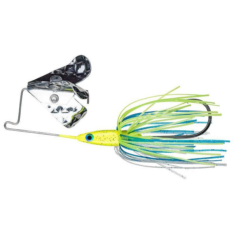 Lures Strike King TRI WING MINI BUZZ KING 10G CHARTREUSE BLUE