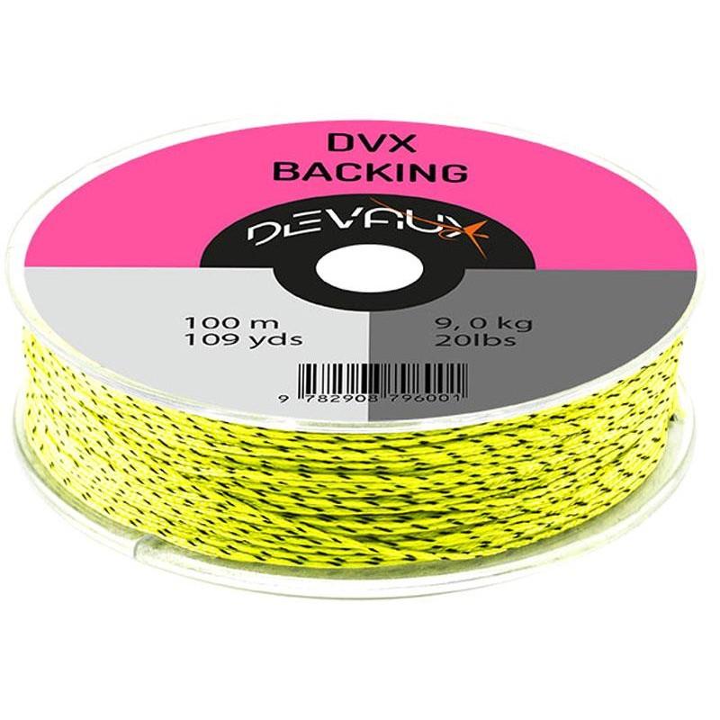 BACKING DEVAUX DVX - Chartreuse/Noir - 100m