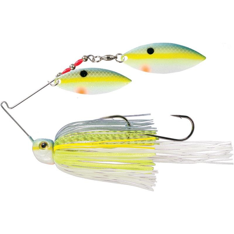 Lures Strike King TOUR GRADE PAINTED BLADE SB 14G CHARTREUSE SEXY SHAD