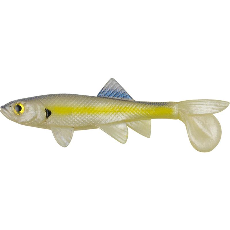 POWERBAIT SICK FISH 10CM CHARTREUSE SHAD