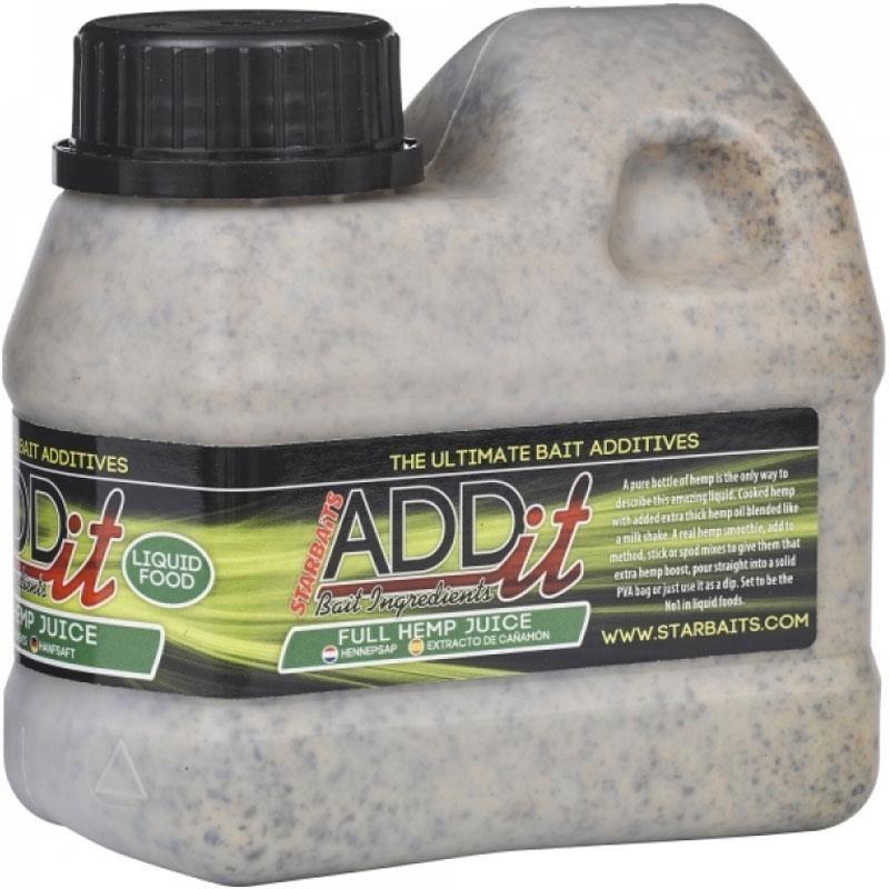 ADDITIF LIQUIDE STARBAITS ADD'IT HUILE - Chenevis liquide