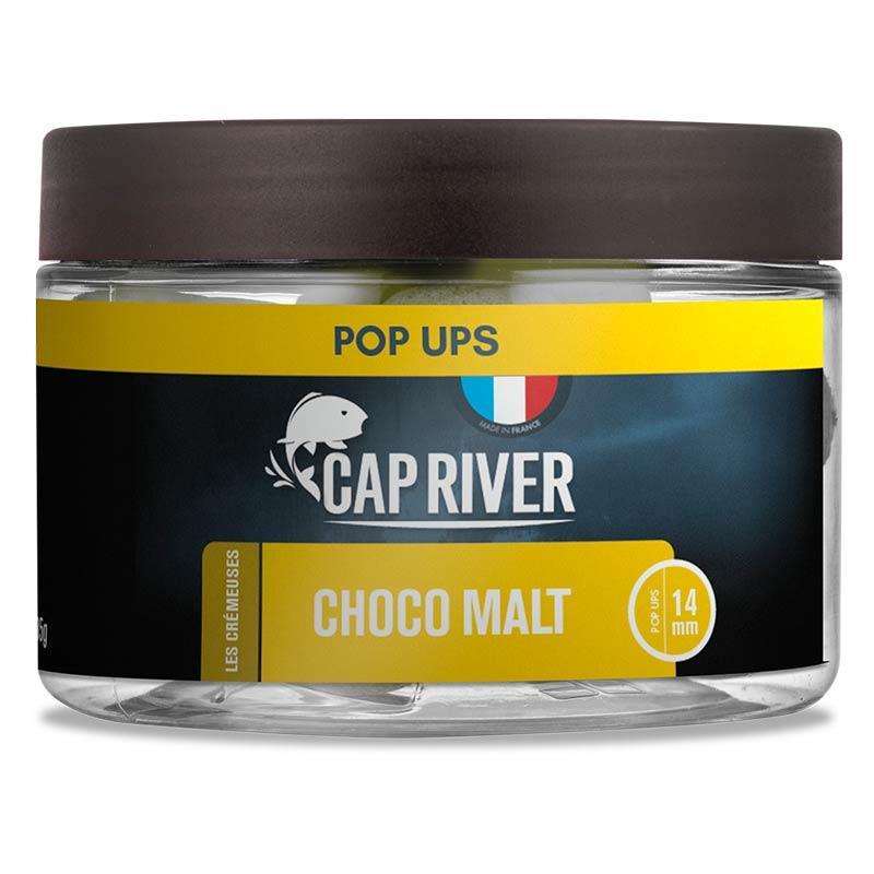 Baits & Additives Cap River POP UPS CHOCO MALT 14MM