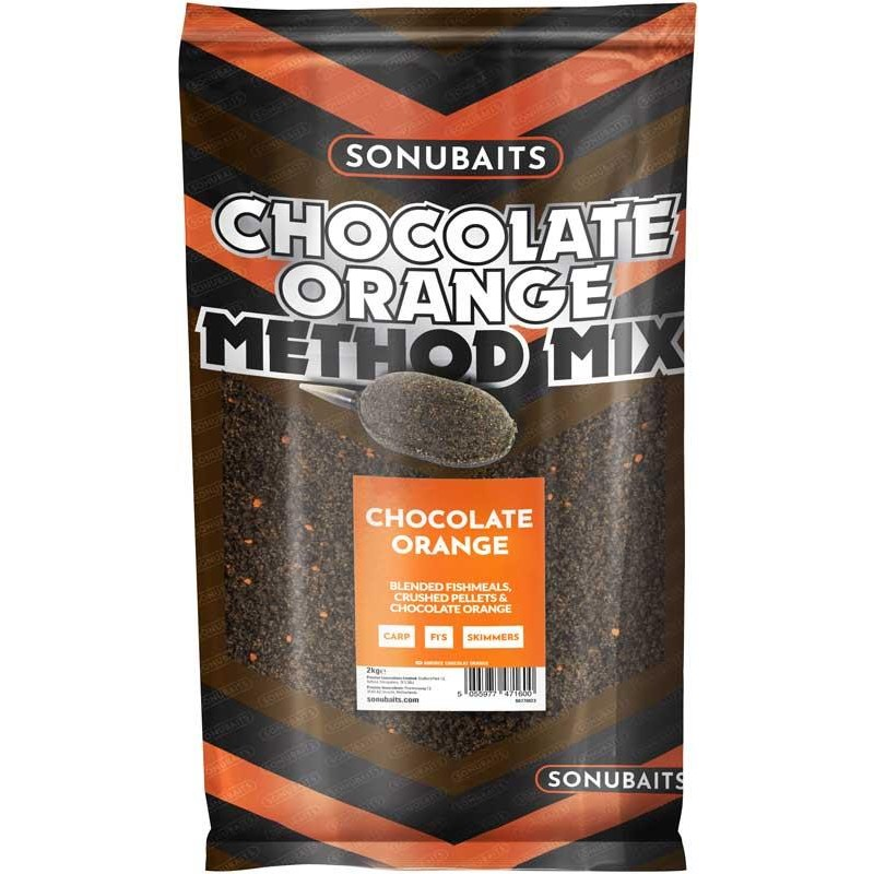 METHOD MIX SONUBAITS - Chocolate Orange