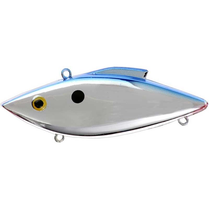 Lures Rat-l-Trap MAG TRAP CHROME BLUE BACK