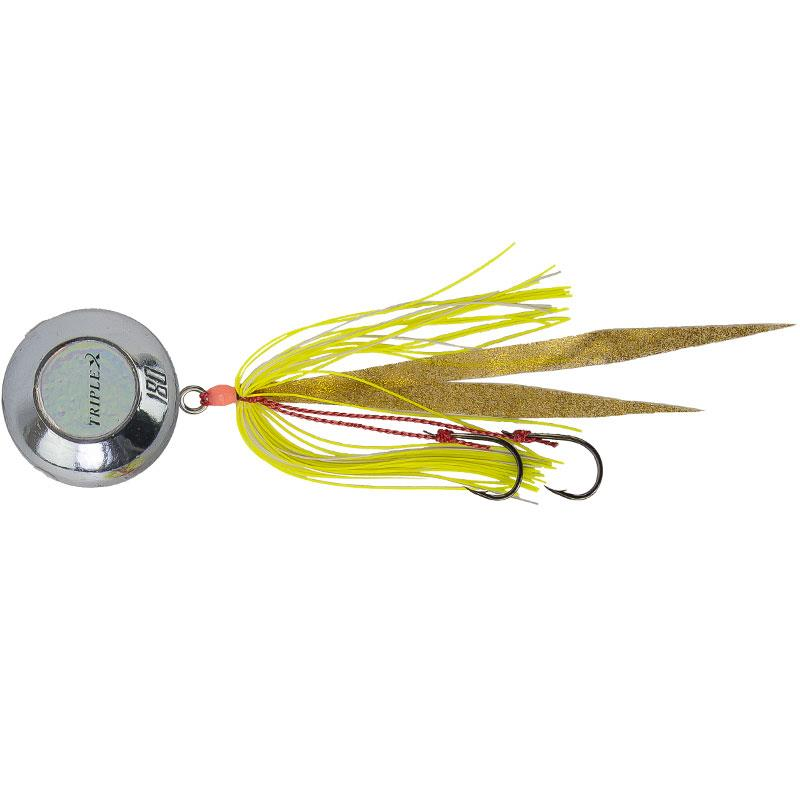 Lures Grauvell CROSS TWO TRIPLE 120G CHROME