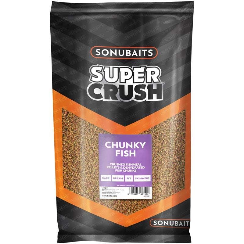 AMORCE SONUBAITS SUPER CRUSH - Chunky Fish