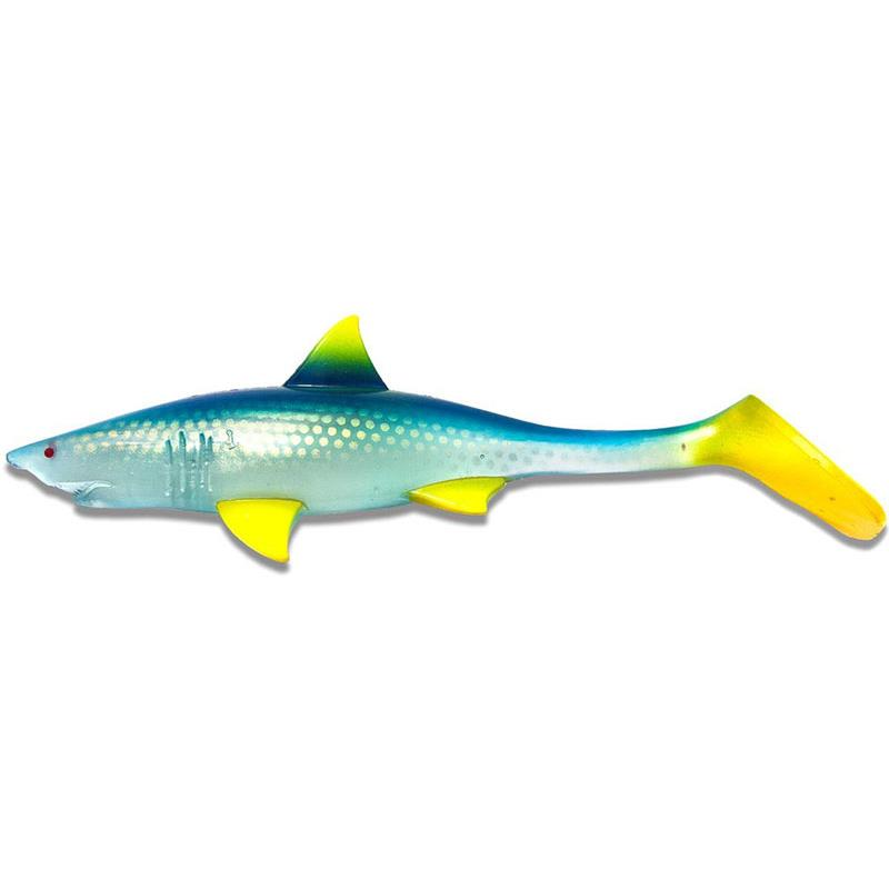 Lures Kanalgratis SHARK SHAD 20CM CLEAR BLUE LEMONADE