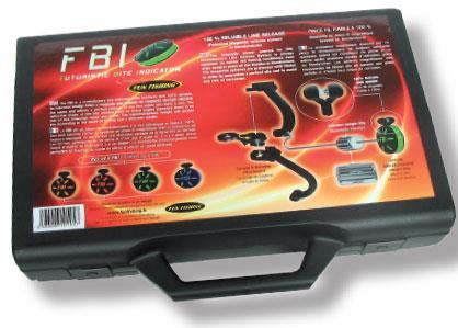 FBI COFFRET DE 4 FBI (ROUGE, ORANGE, BLEU, VERT)