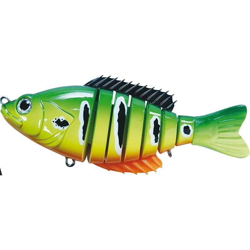Lures BC Lures SEGMENT SHAD 15CM PEACOCK TIGER