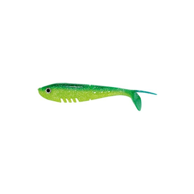 BABY BUSTER SHAD 7CM CHARTREUSE DOS BLEU