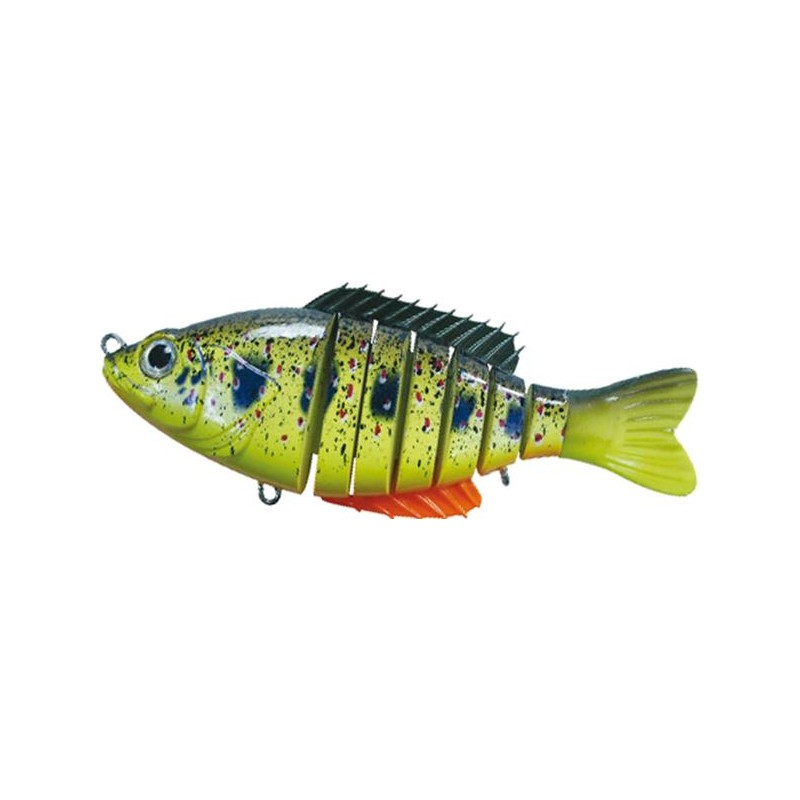 Lures BC Lures SEGMENT SHAD 15CM LEMON STAINED