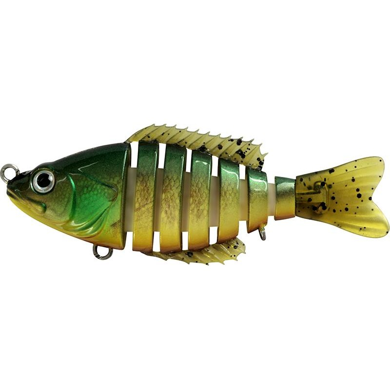 SEGMENT SHAD 12.5CM GREEN BROWN