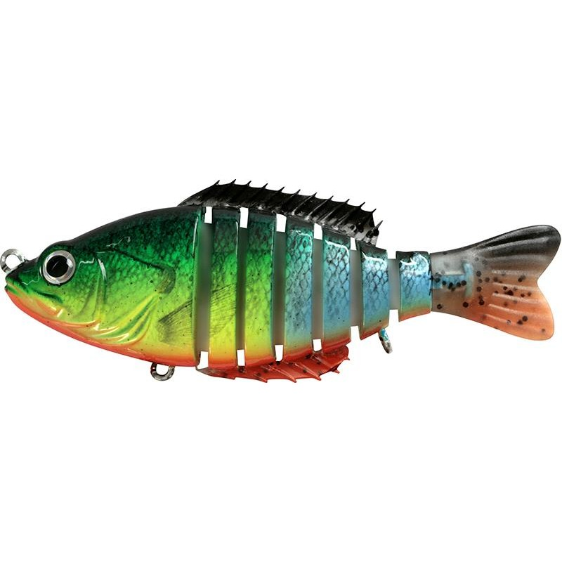 Lures BC Lures SEGMENT SHAD 12.5CM FIRE