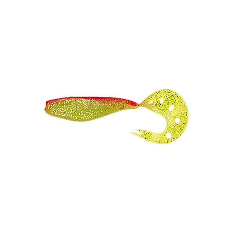 Delalande  SANDRA 12CM Chartreuse Dos Rouge