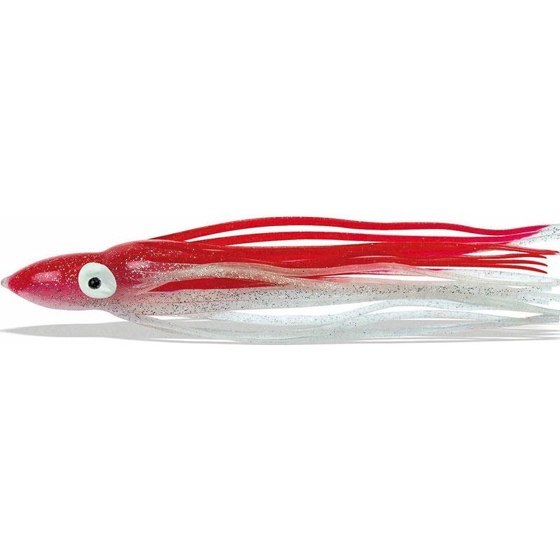 Lures Pike'n Bass OCTOPUS 6CM ROUGE-BLANC