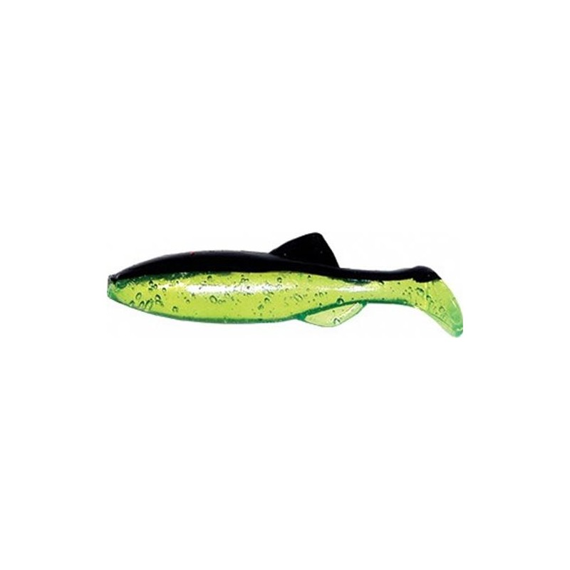 Lures Mister Twister Baits MICRO SHAD 3CM CHARTREUSE-NOIR
