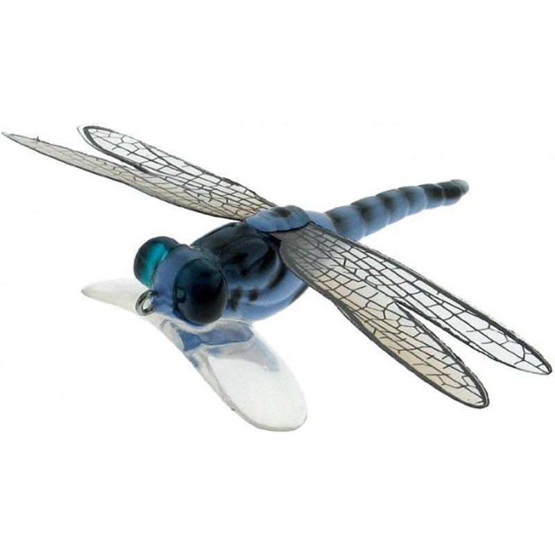 DRAGON FLY POPPER 7CM BLEU
