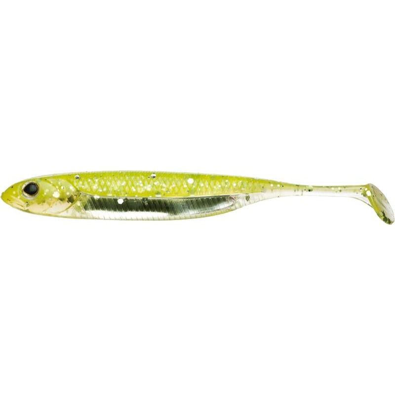 Lures Fish Arrow FLASH J SHAD 9.7CM CHARTREUSE SILVER