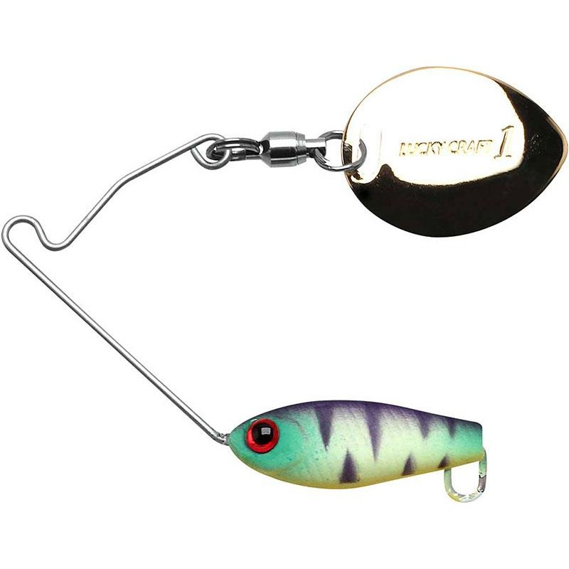 Lures Lucky Craft AREA'S 3/16 OZ MAT TIGER