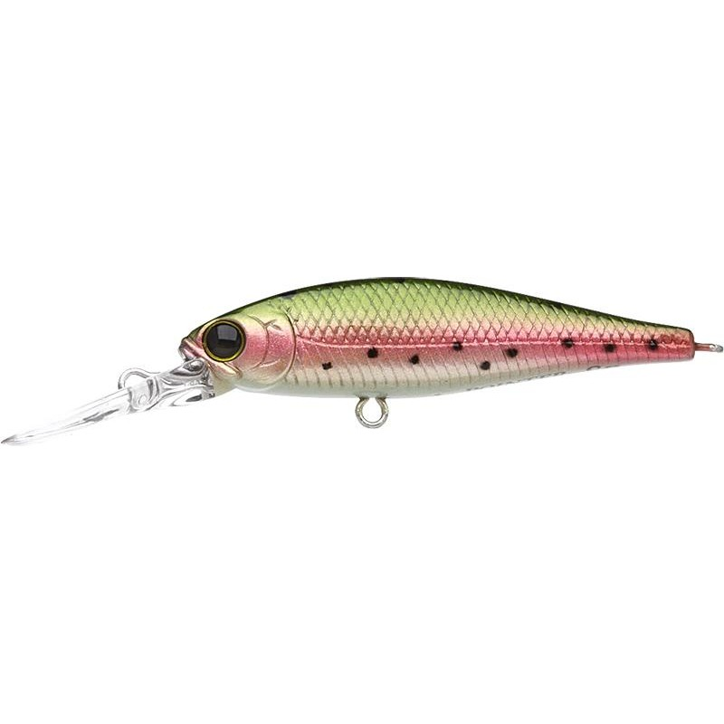 Lures Lucky Craft B'FREEZE POINTER 4.8CM DEEP RIVER SP LASER RAINBOW TROUT