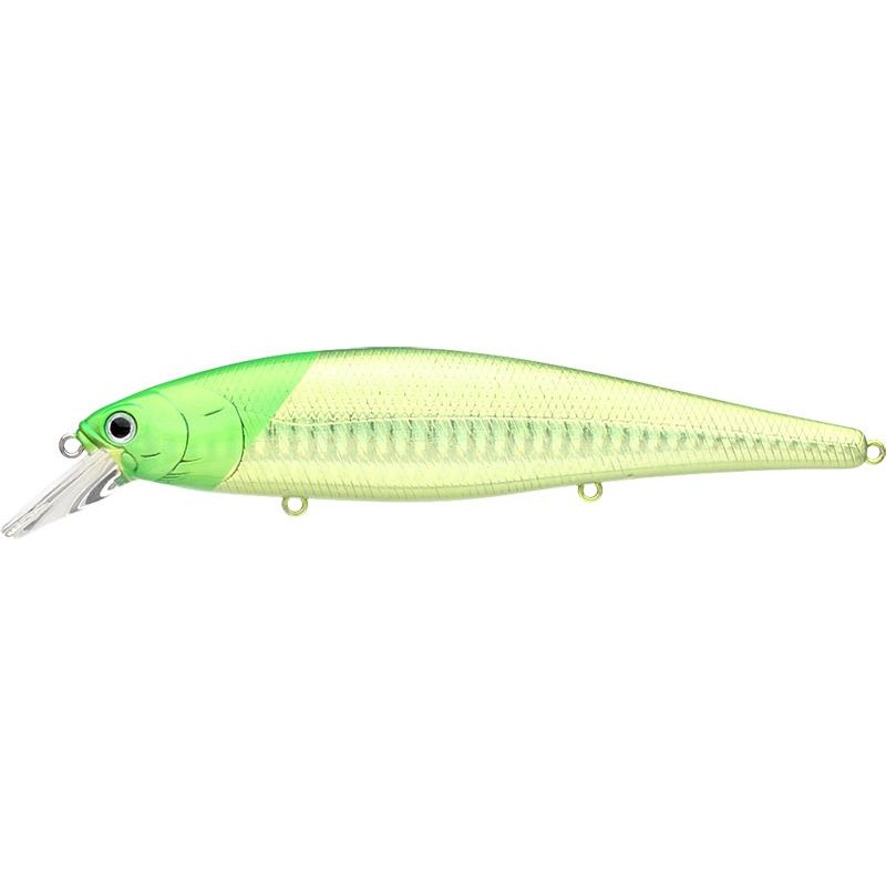 Lures Lucky Craft SW B'FREEZE 12.8CM SP LASER GREEN HEAD CHARTREUSE