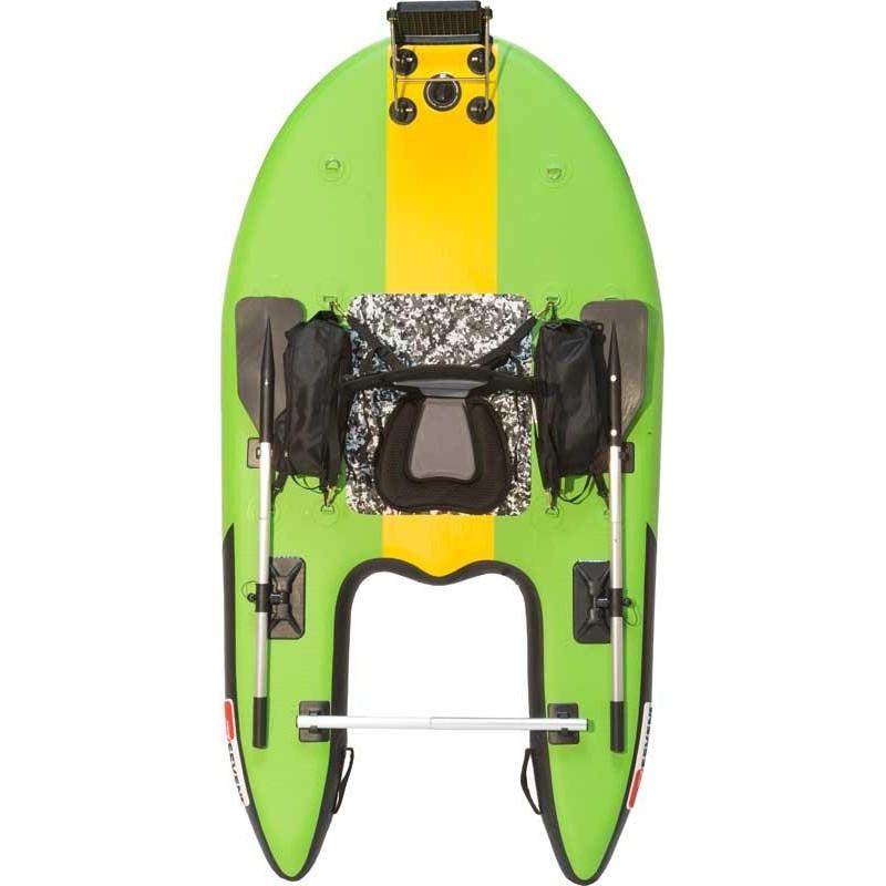 FLOAT TUBE SEVEN BASS JUNGLE OPERATOR - Couleur Jungle Green