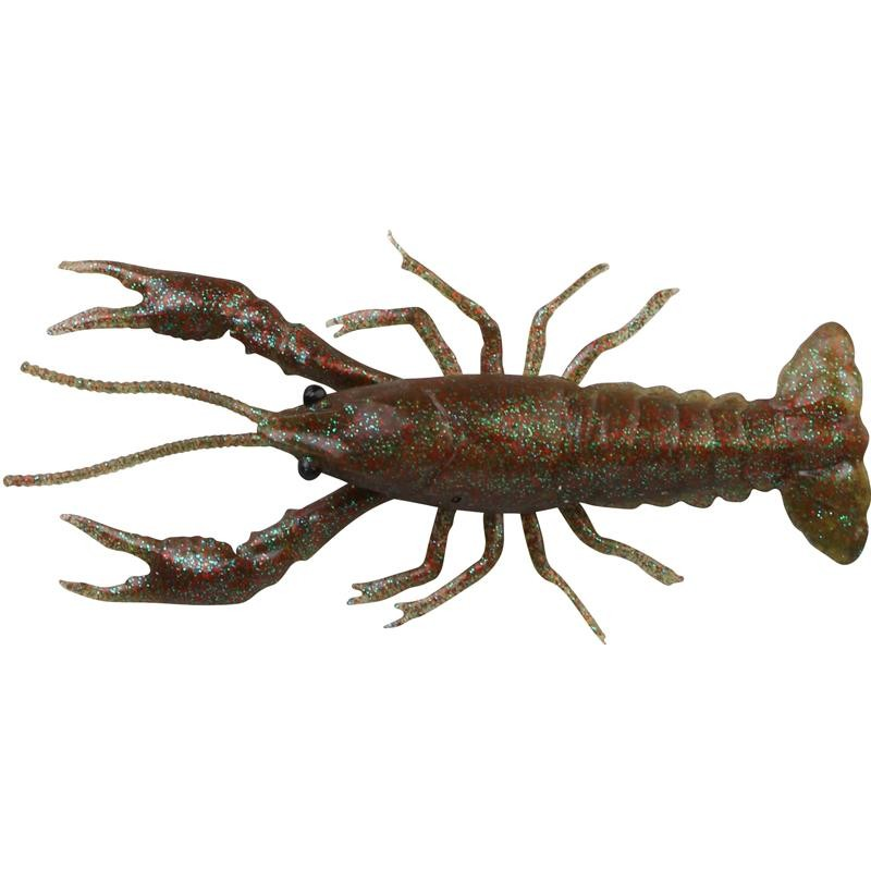 3D CRAYFISH 8CM MAGIC BROWN