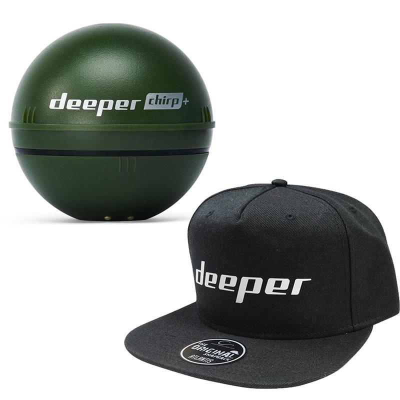 SONDEUR COULEUR DEEPER PRO+ CHIRP - Deeper Pro+ CHIRP + Casquette Deeper