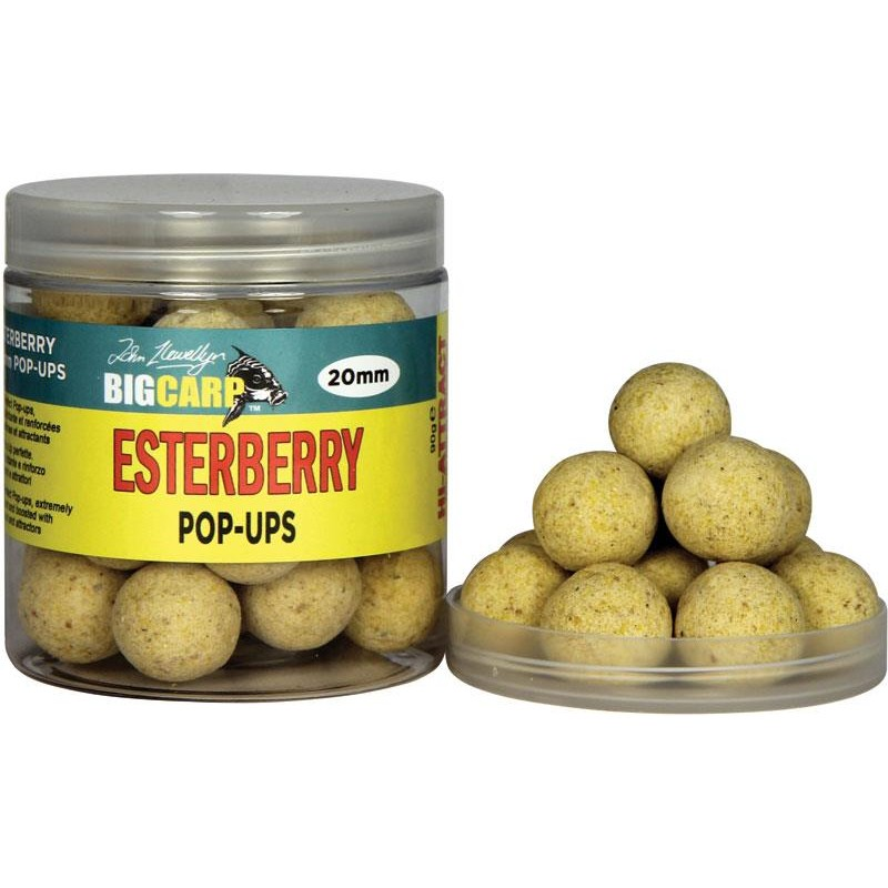 Baits & Additives Big Carp POP UPS ESTERBERRY O 20MM