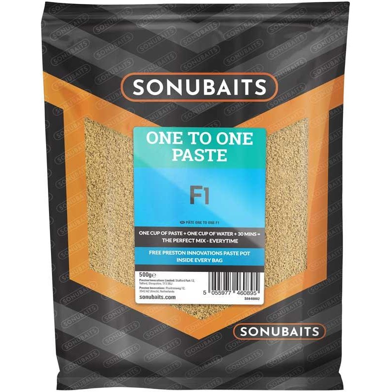 PATE D'ESCHAGE SONUBAITS ONE TO ONE PASTE - F1