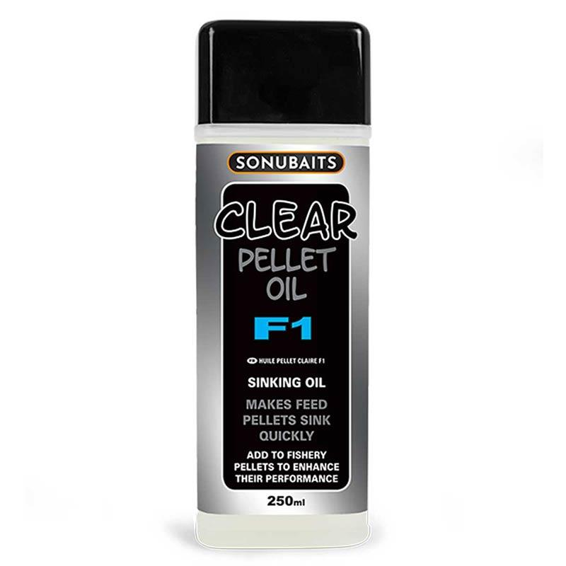 Baits & Additives Sonubaits CLEAR PELLET OIL F1