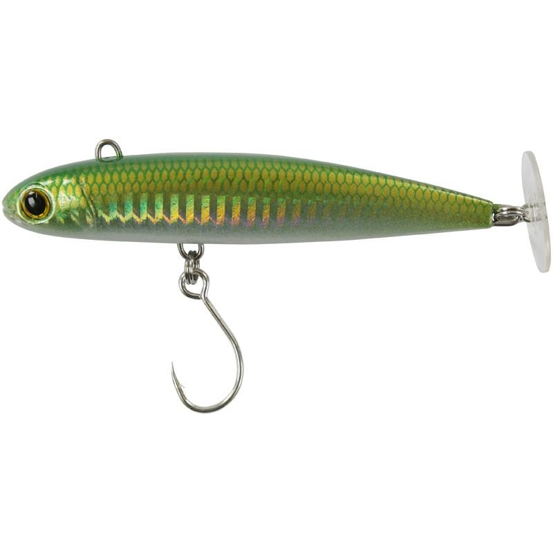 POWERTAIL SW 10CM FAST SILVER GREEN