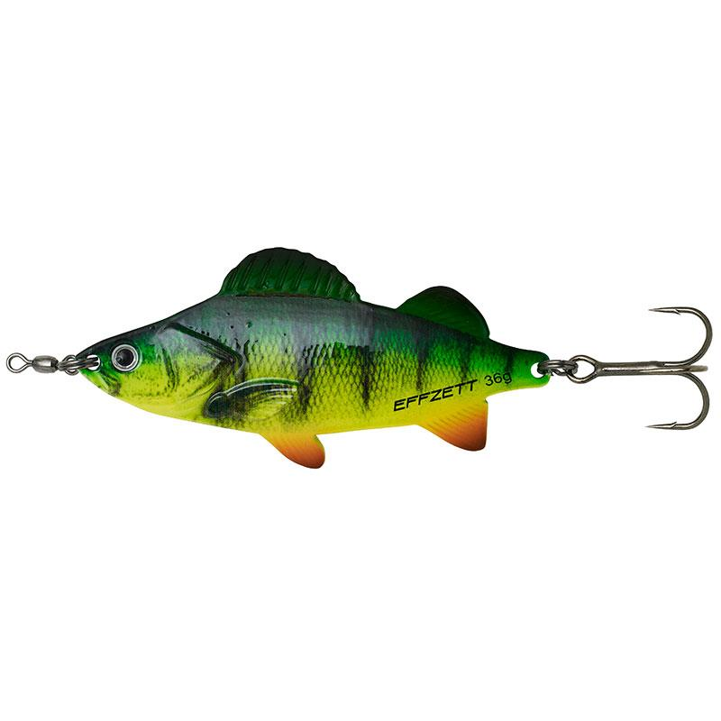 Leurres Effzett PERCH SPOONS 62G FIRE PERCH UV