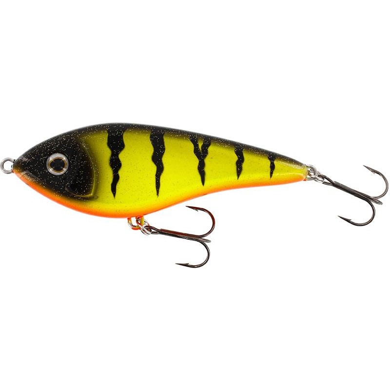 SWIM GLIDEBAIT LEURRE COULANT 12CM FIRE PERCH