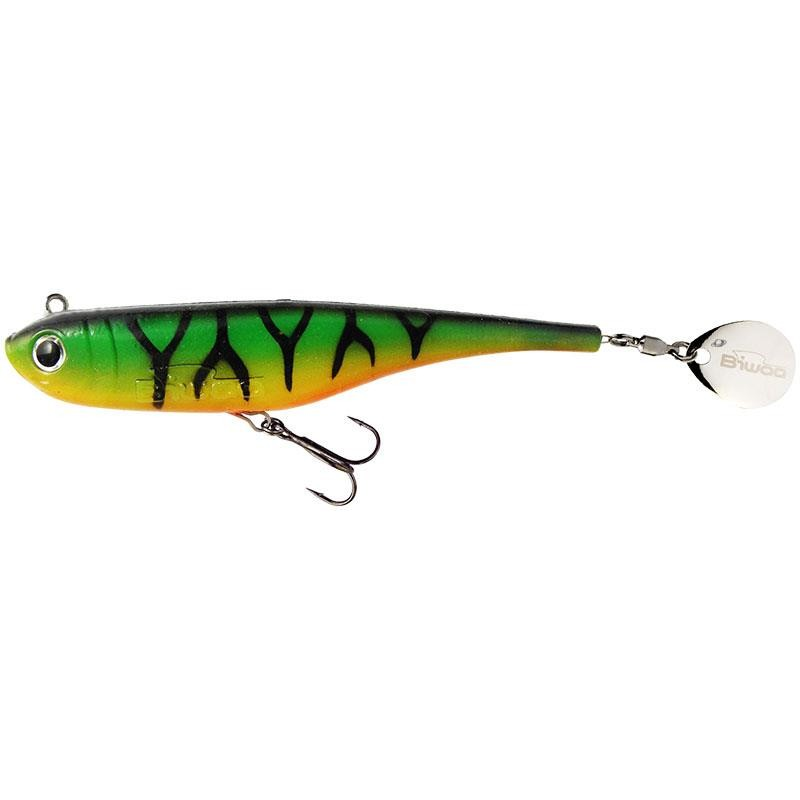 Lures Biwaa Fishing Performance DIVINATOR MINI 9.5CM FIRE TIGER