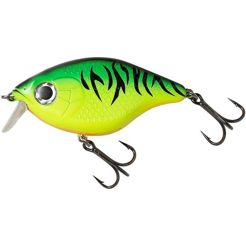 Lures Mad Cat TIGHT S SHALLOW 12CM FIRETIGER