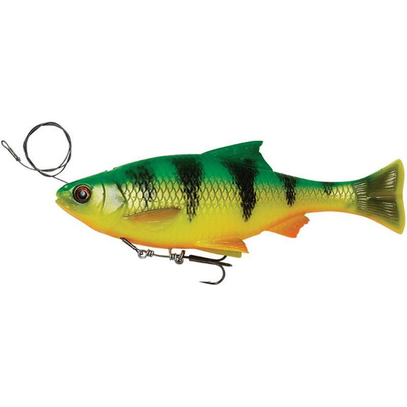 Savage Gear 4d Line Thru Pulse Tail Roach 18 cm 90 g /& 21 cm 150 g Swimbait chevesne