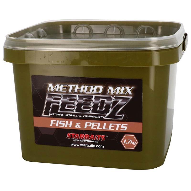 Baits & Additives Star Baits FEEDZ METHOD FISH & PELLETS
