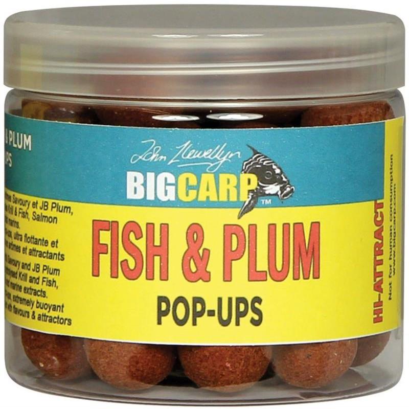 POP UPS FISH & PLUM O 16MM