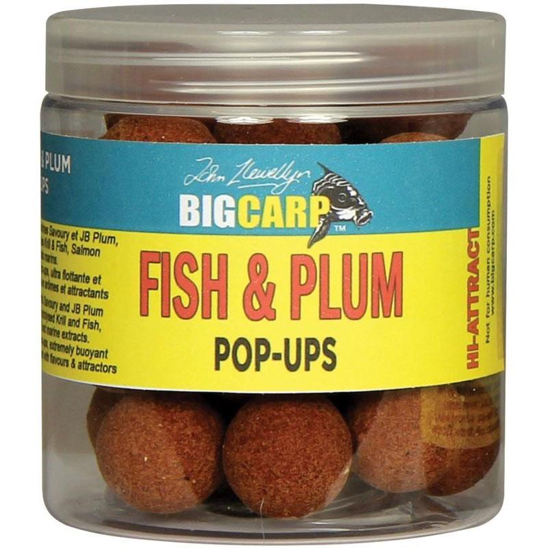 POP UPS FISH & PLUM O 20MM