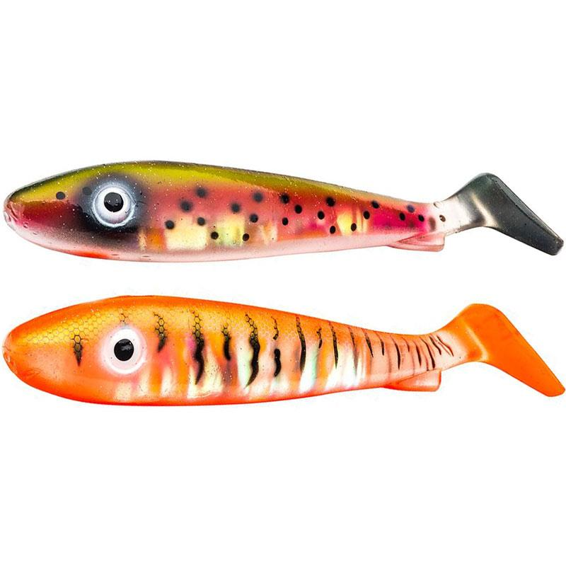 Lures Svartzonker MCRUBBER 21CM FLASH BENGAL TIGER ELECTRIC STEEK HEAD - FLASH BENGAL TIGER-ELECTRIC STEEK HEAD
