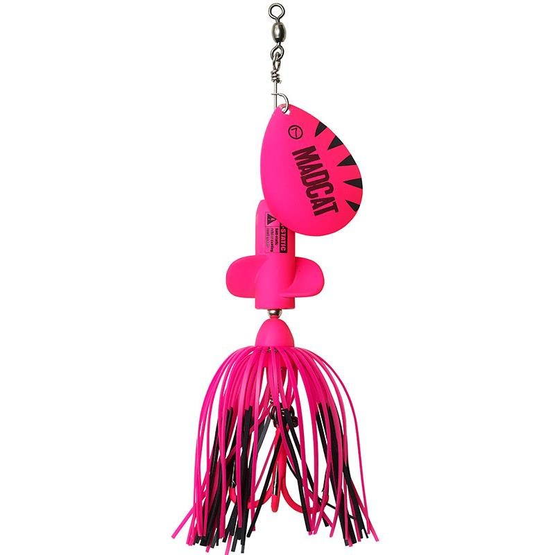 Lures Mad Cat A STATIC SCREAMING SPINNER FLUO PINK UV