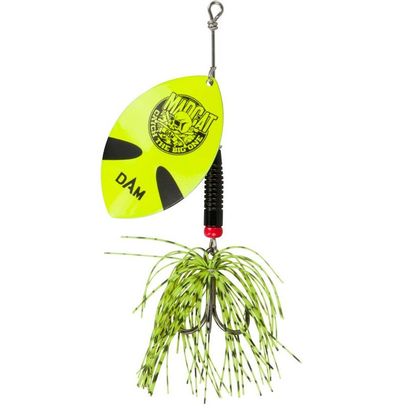 Lures Mad Cat BIG BLADE SPINNER 55G FLUO YELLOW